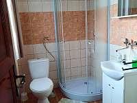 Koupelna - pronájem chaty Deštné v Orlických horách