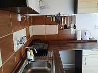 Kuchyňský kout - chata ubytování Deštné v Orlických horách