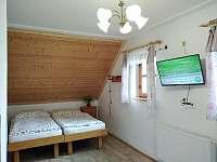 Druhá ložnice v patře - chalupa k pronájmu Osečnice -  Proloh