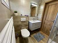 koupelna - chata k pronájmu Sedloňov