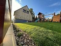 zahrada - pronájem chaty Sedloňov
