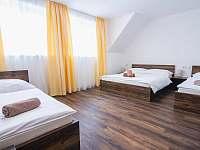 Ložnice 2. patro - apartmán k pronájmu Červená Voda - Mlýnický Dvůr