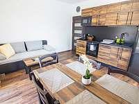 Obyvák 1. patro - apartmán ubytování Červená Voda - Mlýnický Dvůr