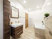 Koupelna v patře - Říčky v Orlických horách