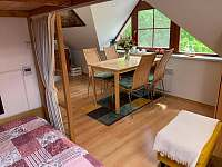 Podkrovní apartmán - přímo u sjezdovky - apartmán k pronájmu - 3 Deštné v Orlických horách