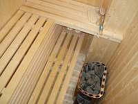 Klasická sauna - chalupa k pronájmu Sněžné v Orlických horách