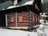 V zimě je v chaloupce útulno - pronájem Bartošovice v Orlických horách - Neratov