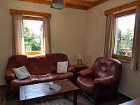 obývací pokoj - chata k pronájmu Dolní Morava