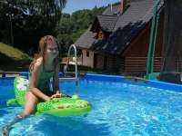 bazén - pronájem chalupy Olešnice v Orlických horách