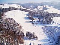 Skiareál Hartman Olešnice v Orlických horách -