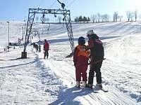 Skiareál Olešnice v Orlických horách -