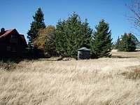 výhled na Masarykovu chatu