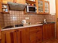 Kuchyň - pronájem srubu Dolní Morava