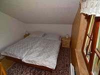Ložnice podkroví - srub k pronajmutí Dolní Morava
