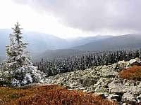 Pod vrcholem Kralického Sněžníku - pronájem srubu Dolní Morava