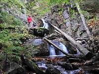Vodopád Pod Strašidly - srub k pronajmutí Dolní Morava