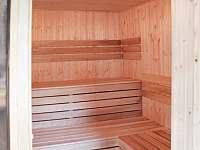 Chalupa Švýcarka - nová sauna - k pronájmu Olešnice v Orlických horách