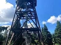 Rozhledna - Anenský vrch 992 m n.m. - Olešnice v Orlických horách
