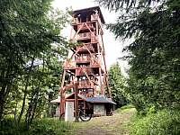 Rozhledna Vrchmezí 1084 m n.m. - Olešnice v Orlických horách