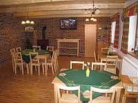 společenská místnost - chalupa ubytování Sedloňov v Orlických horách
