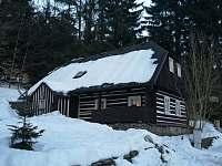 Chaloupka u lesa Olešnice v Orlických horách -