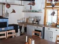společenská místnost s kuchyňským koutem - Olešnice v Orlických horách