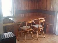 jídelní kout - chata k pronájmu Klášterec nad Orlicí - Zbudov