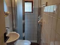koupelna s WC - chata k pronajmutí Klášterec nad Orlicí - Zbudov