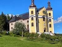 kostel Neratov s prosklenou střechou - Pěčín u Rychnova nad Kněžnou