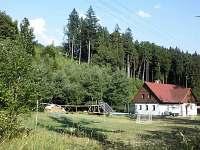 chata s pozemkem - ubytování Souvlastní