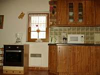kuchyň - chata k pronajmutí Souvlastní
