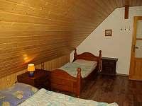 ložnice 1 - chata k pronájmu Souvlastní