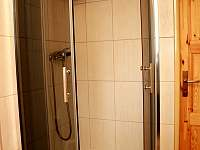 sprchový kout - apartmán - Sněžné