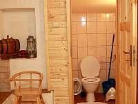 toaleta - přízemí - Sněžné