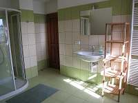 Horní koupelna - chalupa k pronajmutí Čenkovice