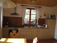 Kuchyň - chalupa ubytování Čenkovice