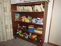 Dětský koutek s hračkami