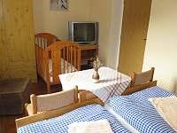 Pokoj 1 v přízemí - 2 lůžka nebo manželská postel