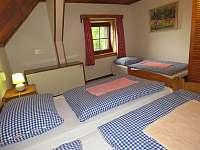 Pokoj 6 - 3 lůžka - manželská postel + lůžko