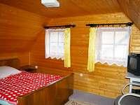 Ložnice II - dvoulůžko - chalupa ubytování Opočno