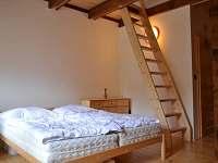 Horní ložnice malá - chalupa k pronajmutí Heřmanice u Králik