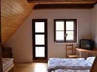 Horní ložnice malá - chalupa k pronájmu Heřmanice u Králik