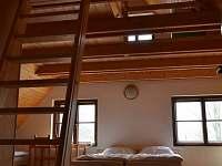 Horní ložnice velká - chalupa ubytování Heřmanice u Králik