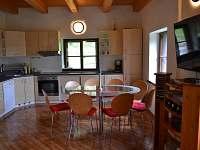 Pohled z obývacího pokoje - Heřmanice u Králik