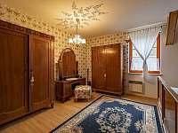 Chalupa Pěčín 25, ložnice 1