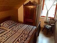 Chalupa Pěčín 25, ložnice 2 - k pronájmu