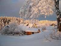 romantické vánoce na chalupě DORNER - k pronájmu Sedloňov