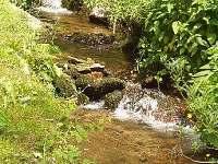 Potok pod chalupou - k pronajmutí Orličky