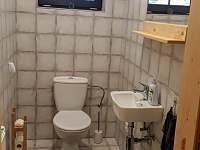 WC - chalupa k pronajmutí Říčky v Orlických horách