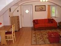 obývací pokoj - pronájem chalupy Červená Voda